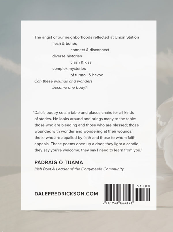 On Wounds & Wonder Book Back Cover